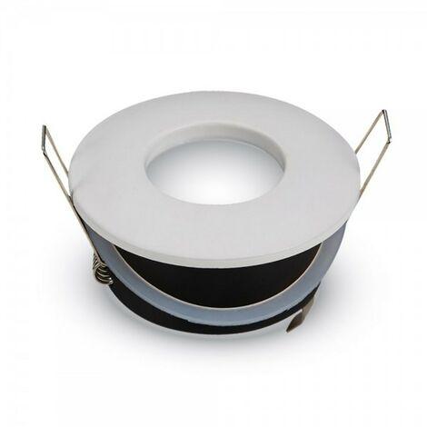 LED GU10 soporte de punto blanco D84 IP54 a prueba de agua