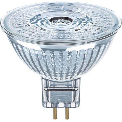LED GU5.3 OSRAM 4058075094932 5 W = 35 W blanc chaud (Ø x L) 51 mm x 46 mm 1 pc(s)