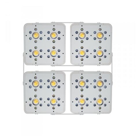 Led horticole LED HPS KILLER 4X120W - INDOORLED (équivalent 750w hps) - 60/68.5x60/68.5cm
