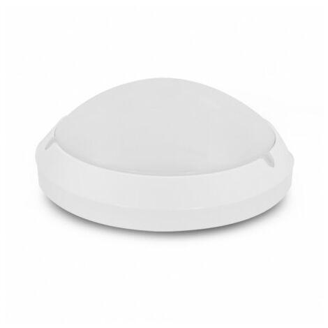 Led hublot Ø300 E27 blanc IP65 + détecteur - Vision-El