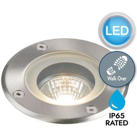 LED In Ground Recessed Walk Over Uplight Deck Patio Garden Outdoor IP65 GU10