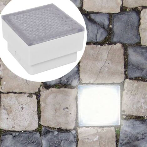 LED Inground Lights 6 pcs 100x100x68 mm