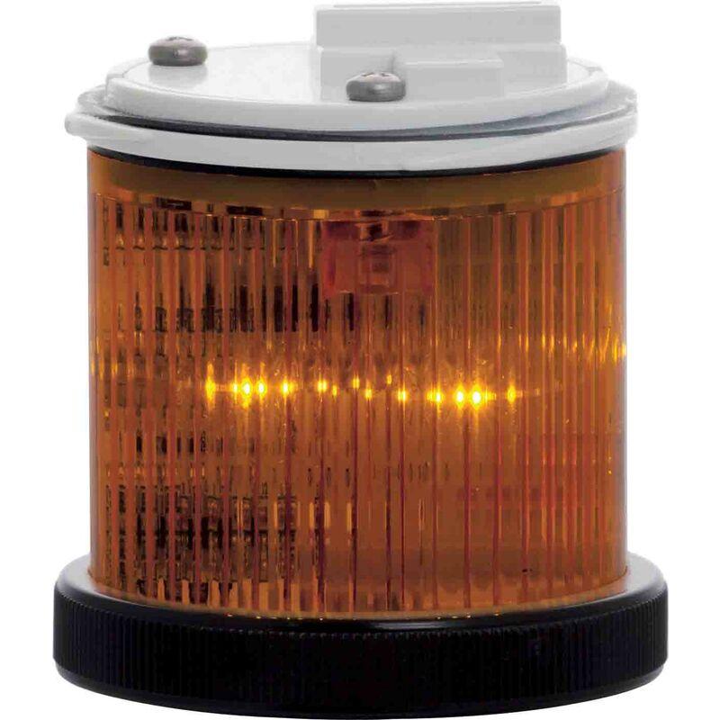 Module d'éclairage Flash, Fixe Ambre, LED 24 V (c.a./c.c.)