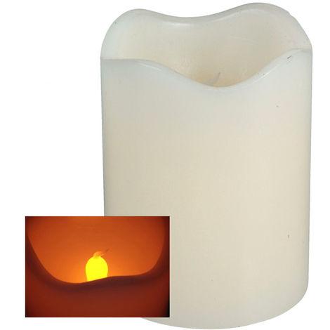 LED Kerze 7x9 creme