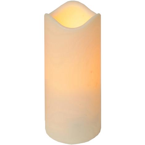 Led Kerze Außen Kunststoff 23x10cm Flackernde Flammenlose Kerzen