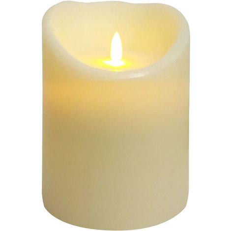 wei/ß//gr/ün LED Beleuchtung Weihnachtsdeko Timer Fernbedienung kabellos Farbwechsel Relaxdays LED Kerzen 30er Set