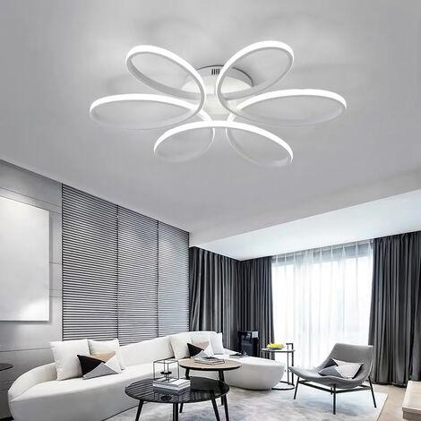 LED Lamp Ceiling Light Cool White Floral Pendant Chandelier, 74CM