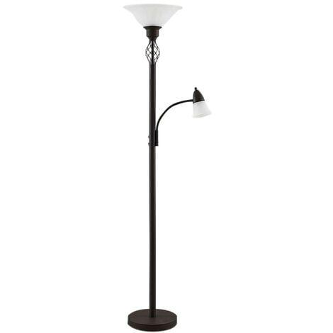 LED Lampadaire \'Dunja\' en métal pour salon & salle à manger