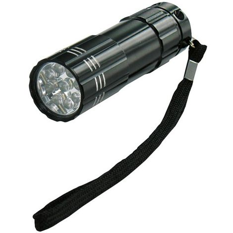 LED Lampara de bolsillo G16/2 Titan,9LED - 15m (por 5)
