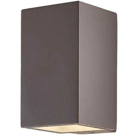 LED Lámpara de pared Led exterior 'Kaniel' en Gris (2 llamas, A+) de Lindby | lámparas de pared LED para exterior aplique, lámpara LED para exterior, aplique para pared exterior/fachada, vivienda