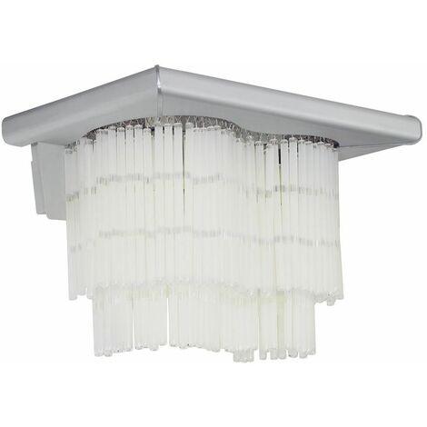 LED lámpara de pared living comedor varillas de vidrio luz de aluminio conjunto de iluminación que incluye bombillas LED