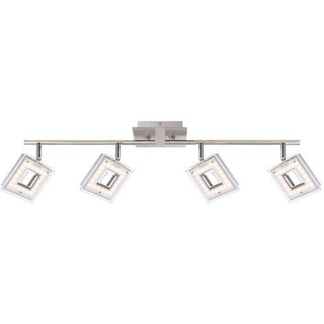 LED lámpara de techo 16.8 Watt luz de techo focos de iluminación Globo KERSTIN 56138-4