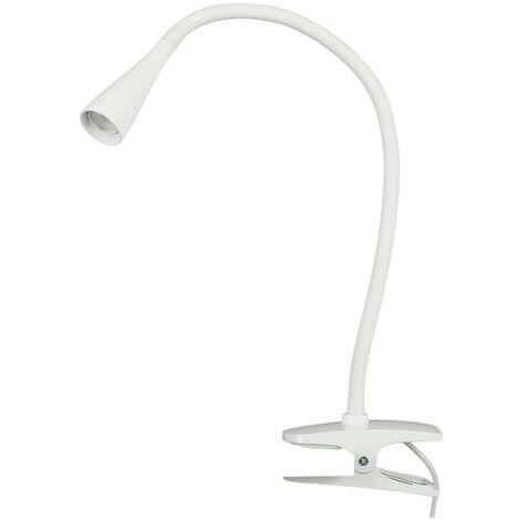 LED Lampe à pince 'Baris' en métal pour bureau
