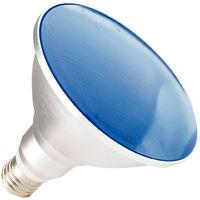 LED Lampe E27 PAR38 15W Waterproof IP65 Blaues Licht Blau