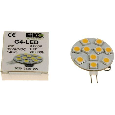 LED LAMPE G4 10 SMD LED S POUR HOTTE - D53065