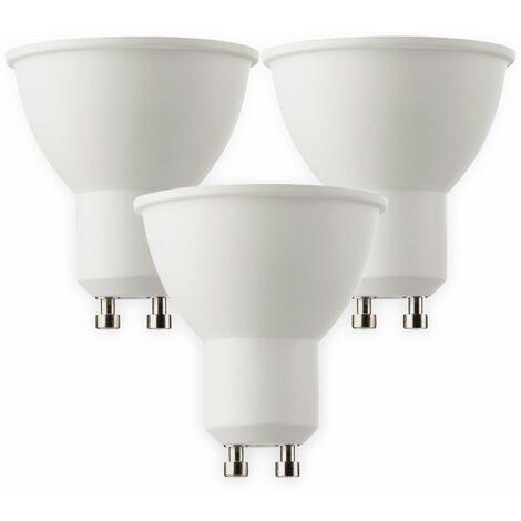 LED-Lampe MÜLLER-LICHT HD95, GU10, EEK: A+, 6 W, 470 lm, 2700 K, 3 Stück