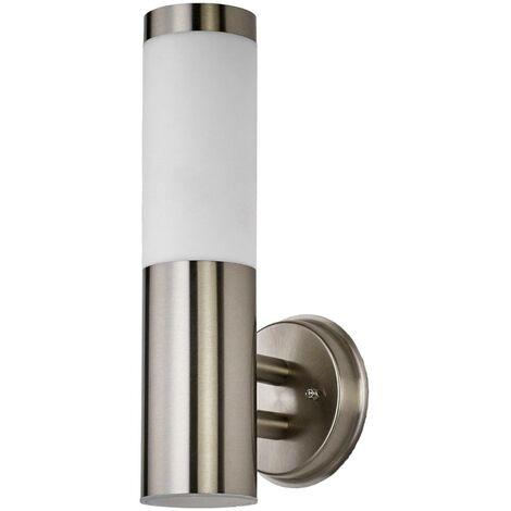 LED Lampe solaire extérieur en Inox \
