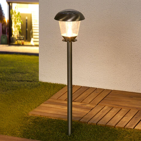 LED Lampes solaires en Inox \