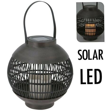 LED lanterne solaire 23cm - basket-ball