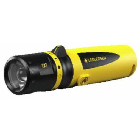 LED LENSER Ex-Schutz Stablampe EX7 mit Batterien