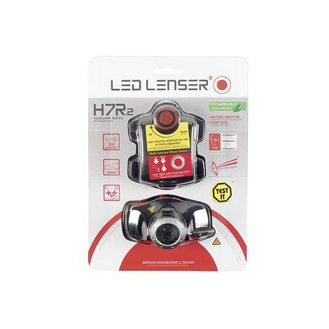 LED Lenser H7R.2 LED Stirnlampe 300 Lumen Lichtleistung