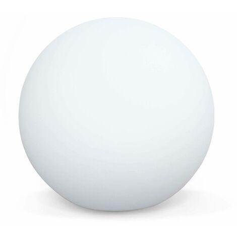 LED light 50cm - Decorative bright sphere, 16 colours, Ø 50 cm, wireless induction charger