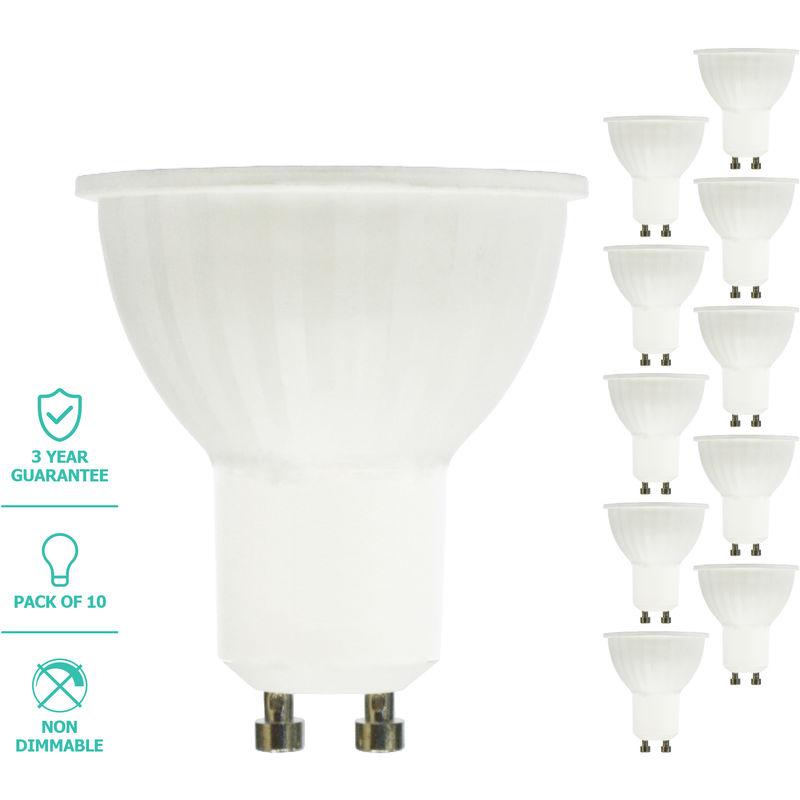 Image of Liteway LED Light Bulb, GU10, 5W, 10 Pack