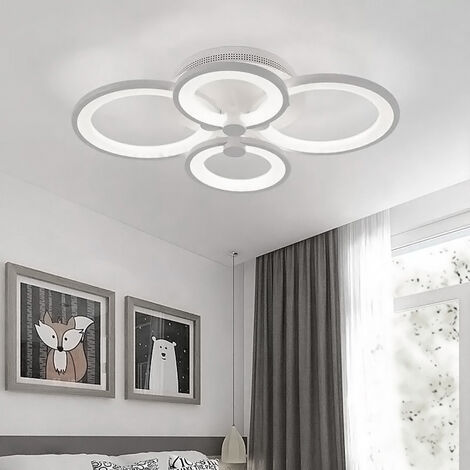 "main image of ""LED Light Ceiling Lights Cool White Chandelier Lamp, 6 Head"""