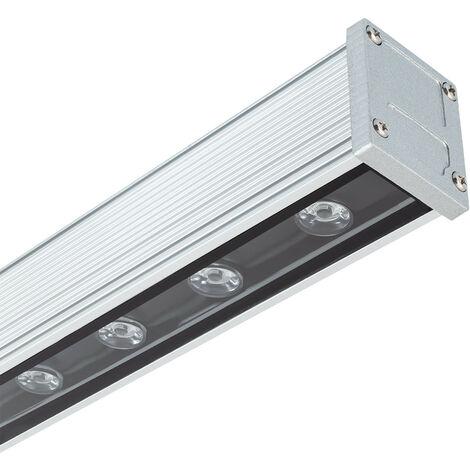 LED Lineal Wandfluter 1000mm 18W IP65 High Efficiency Kaltes Weiß 5700K - 6200K