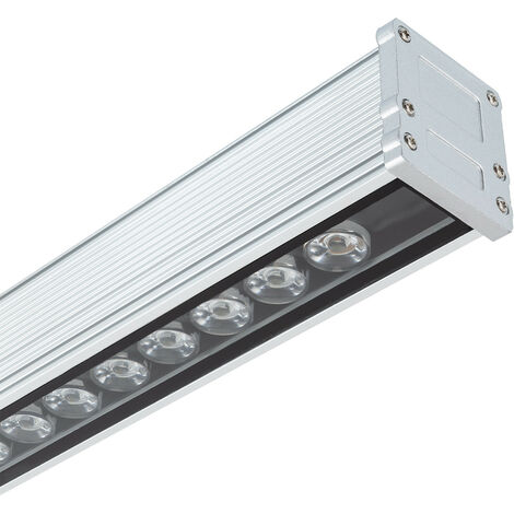 LED Lineal Wandfluter 1000mm 36W IP65 High Efficiency Kaltes Weiß 5700K - 6200K