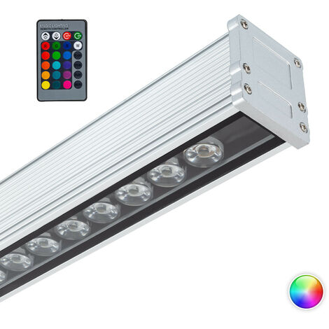 LED Lineal Wandfluter 500mm 18W IP65 High Efficiency RGB RGB