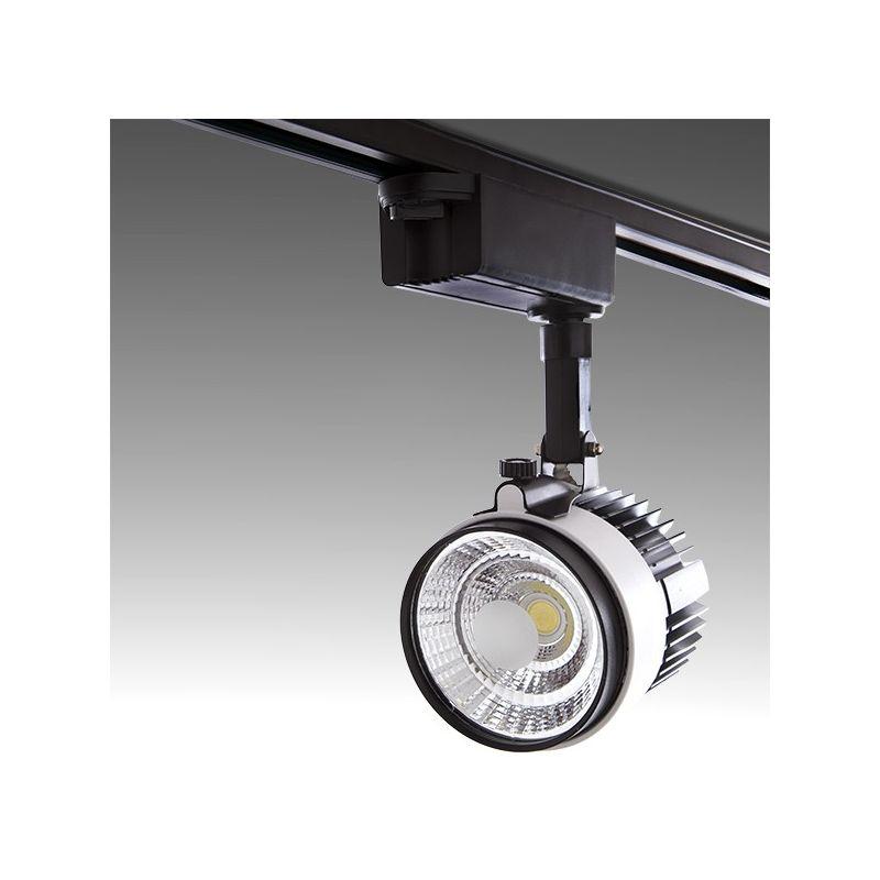 LED Luce Da Binario 2-Phase COB 30W 2700Lm 30.000H Emery | Bianco Freddo (PL-218042-T-CW-W)