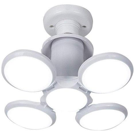 LED luces de garaje, deformable, luces del sotano 40W LED, E26 / E27