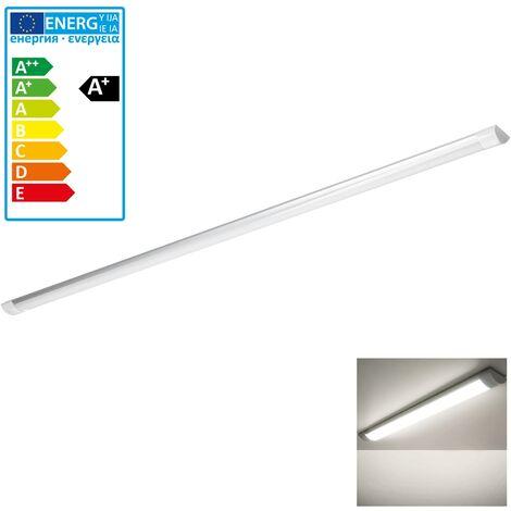 LED luz de tubo 150cm tubo fluorescente barra luz de techo listón blanco calído
