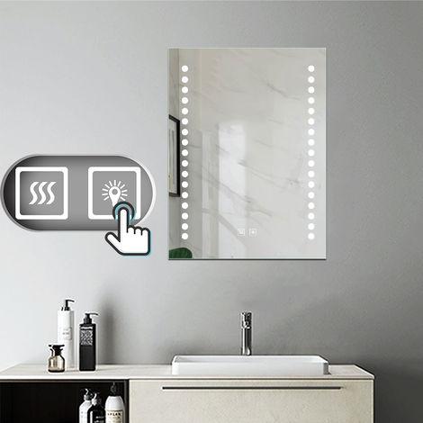 LED Miroir salle de bain anti-buée Lumière Illumination avec éclairage LED