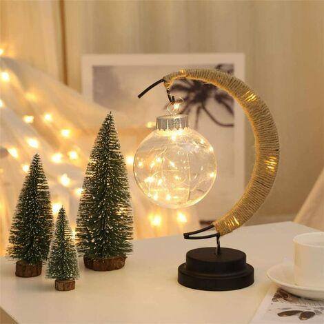 LED moon ball light modeling wish ball table lamp decoration lamp bedroom decoration night light white