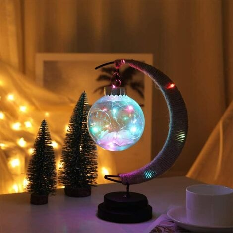 LED moon ball modeling light wish ball table lamp decoration lamp guidelines decoration colorful night light