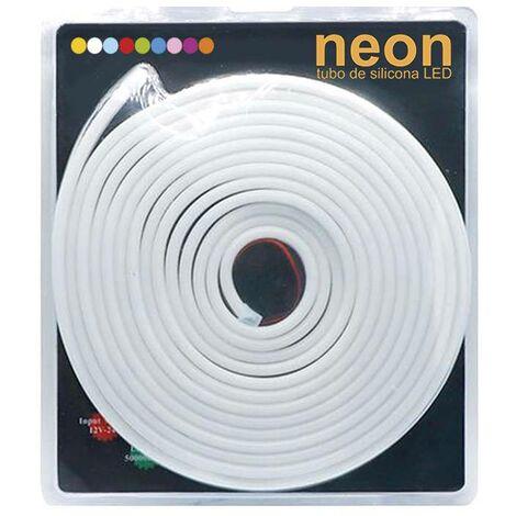 Led NEON Flex, 6x12mm, DC12V, 120Led/m, 5m, 60w, Azul - Azul