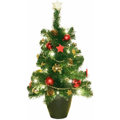 LED Noël sapin décoration couloir lampe X-MAS pot de fleurs boules bijoux lumière Harms 507178