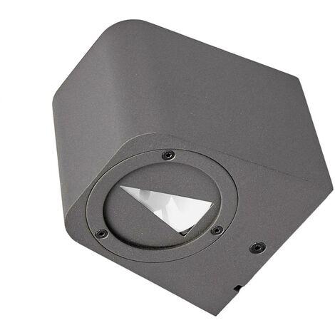LED Outdoor Lighting 'Karsten' (modern) in Black made of Aluminium (2 light sources, A+) from Lucande | outdoor light, outdoor light for office, office, house, garden & buildings