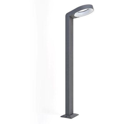 LED Outdoor lights 'Jarka' (modern) in Silver made of Aluminium (90 light sources, A+) from Lucande | garden light, path light, bollard light, path lamp, pillar light