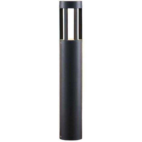 LED Outdoor lights 'Jordis' (modern) in Black made of Aluminium (1 light source, A+) from Lindby | garden light, path light, bollard light, path lamp, pillar light