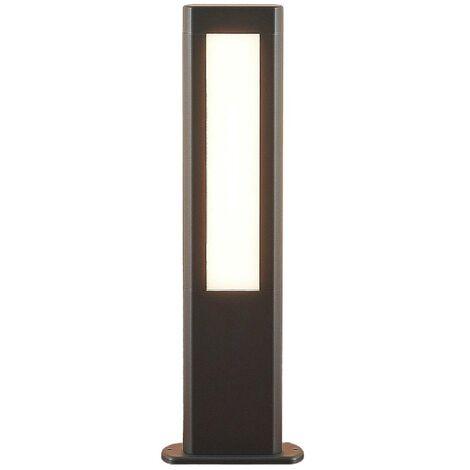 LED Outdoor lights 'Mhairi' (modern) in Silver made of Aluminium (2 light sources, A+) from Lucande | pillar lights, garden light, path light, bollard light, path lamp, pillar light