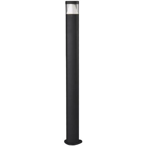 LED Outdoor lights 'Milou' (modern) in Black made of Aluminium (1 light source, A+) from Lucande | garden light, path light, bollard light, path lamp, pillar light
