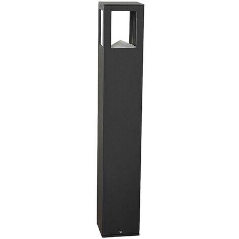 LED Outdoor lights 'Nicola' (modern) in Black made of Aluminium (1 light source, A+) from Lucande | garden light, path light, bollard light, path lamp, pillar light