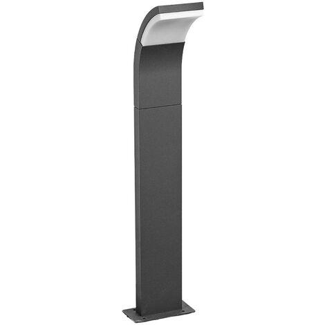 LED Outdoor lights 'Timm' (modern) in Black made of Aluminium (1 light source, A+) from Lucande | garden light, path light, bollard light, path lamp, pillar light