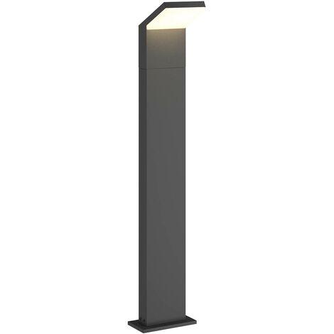 LED Outdoor lights 'Yolena' (modern) in Black made of Aluminium (1 light source, A+) from Arcchio | garden light, path light, bollard light, path lamp, pillar light