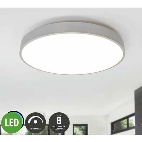 LED Panel aus Aluminium dimmbar mit Fernbedienung für Küche ...