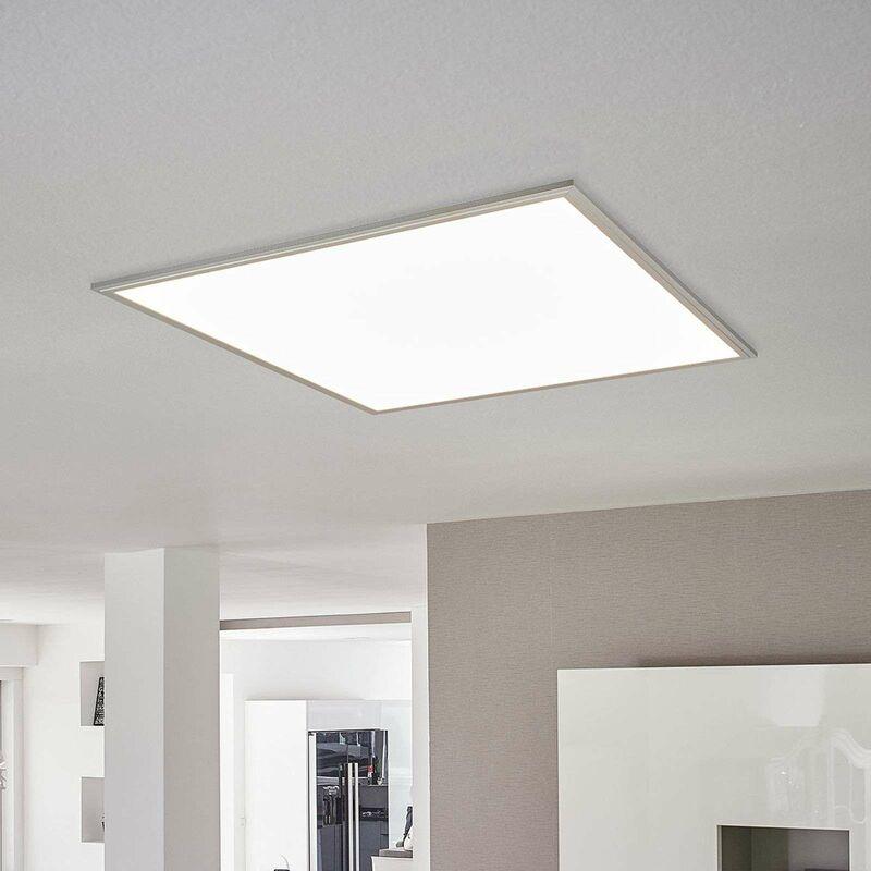 LED Panel aus Metall dimmbar für Wohnzimmer & Esszimmer von Lampenwelt -
