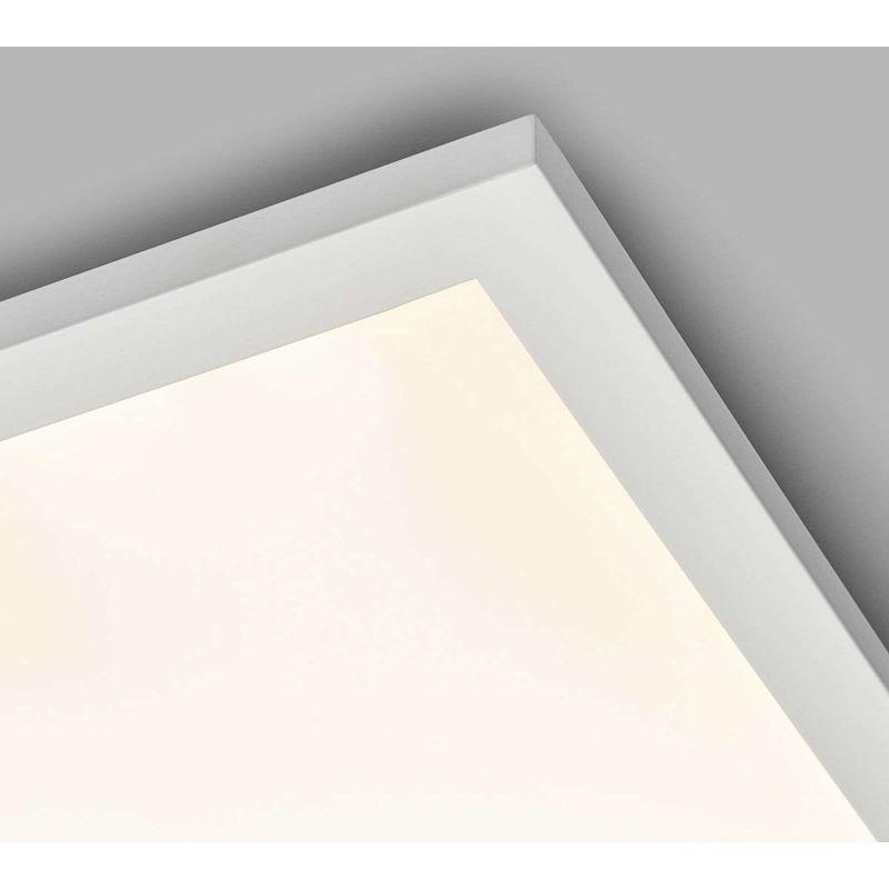 LED Panel aus Metall dimmbar mit Fernbedienung für Wohnzimmer ...